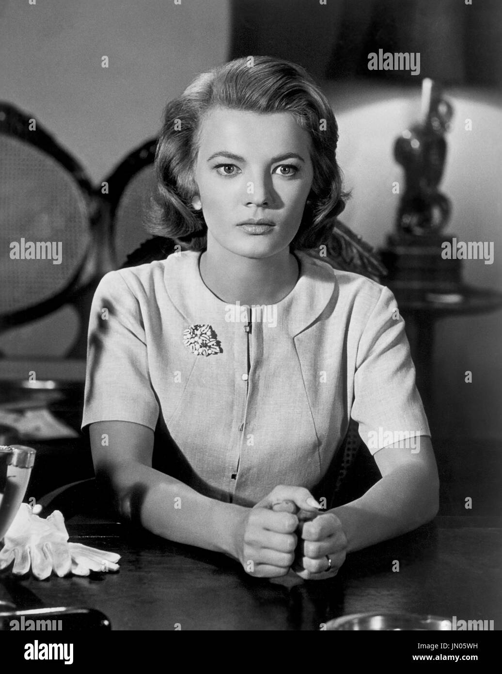 Angie Dickinson, Movie Still, Universal Pictures, 1961 - Stock Image