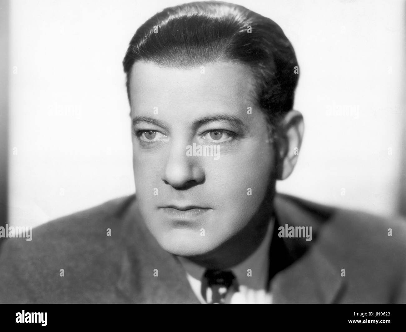 Alan Dinehart, Publicity Portrait for the Film, 'The Devil is Driving', Paramount Pictures, 1932 - Stock Image