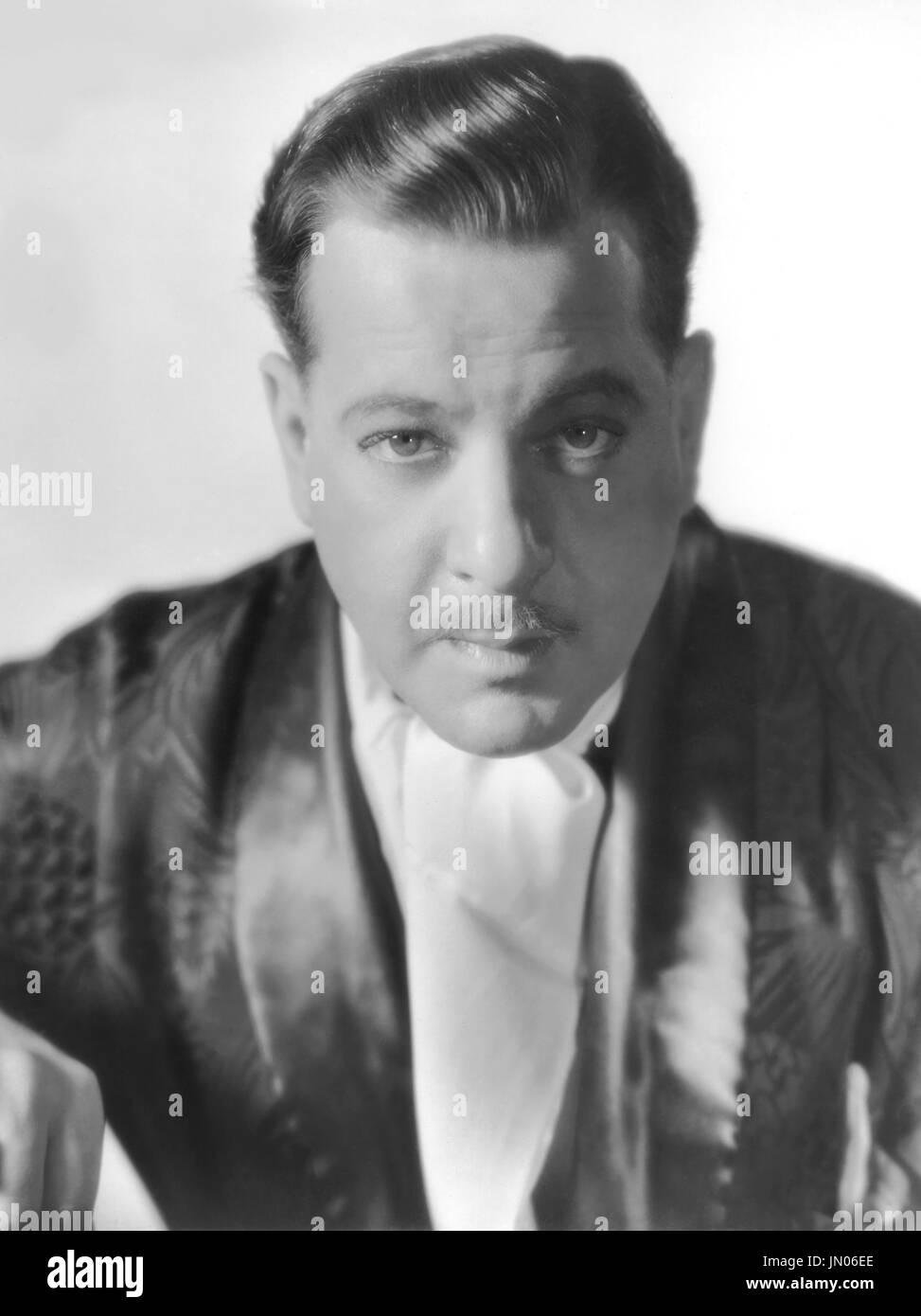Actor Alan Dinehart, Publicity Portrait, 1930's - Stock Image
