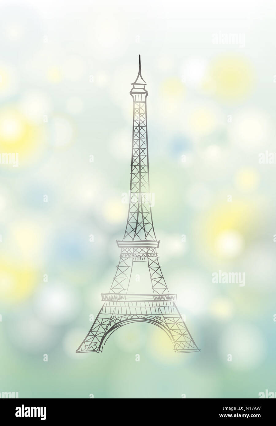 NEW POSTER Seine River France Europe Travel Paris and the Eiffel Tower