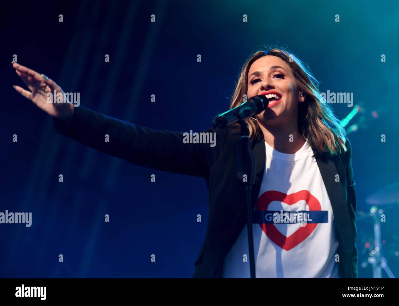All Saints perform at Camp Bestival, Dorset, UK Credit: Finnbarr Webster/Alamy Live News - Stock Image