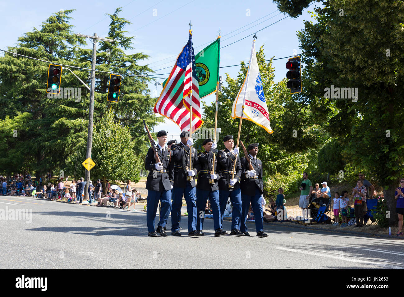 Boy Scout Color Guard to Lead Seattle Pride Parade