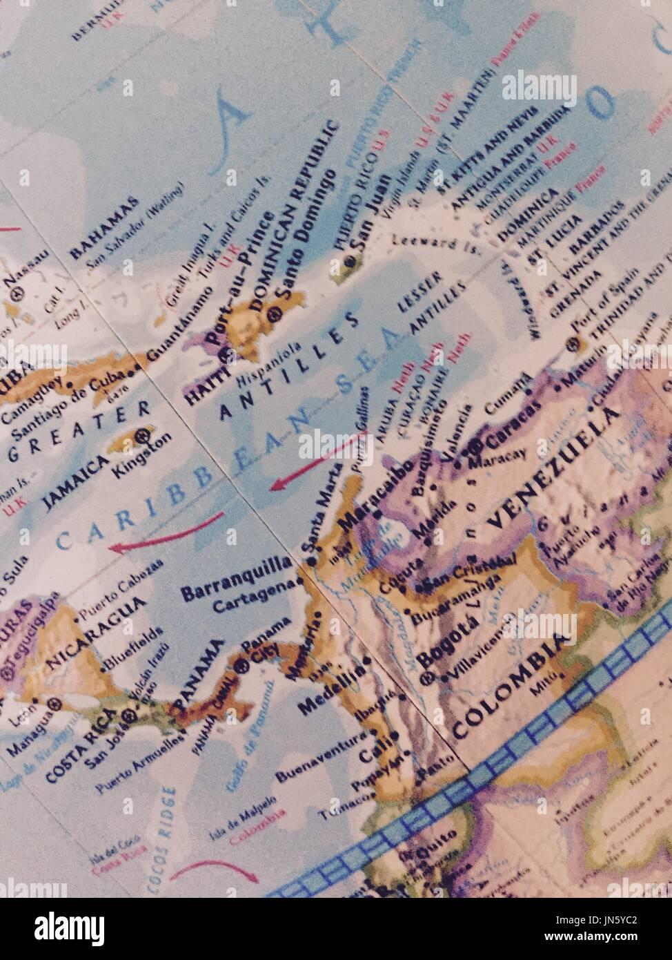 Atlas topography map stock photos atlas topography map stock map stock image gumiabroncs Gallery