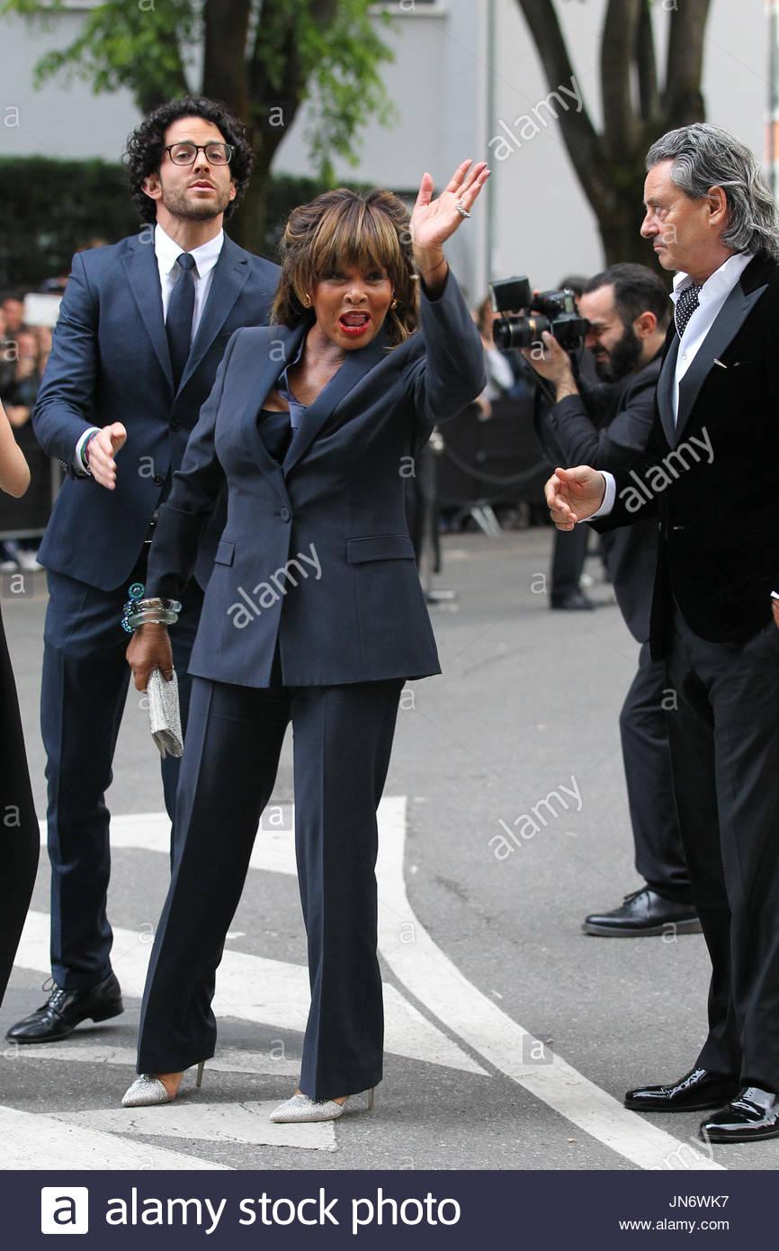 Tina Turner And Erwin Bach Stock Photos & Tina Turner And ...