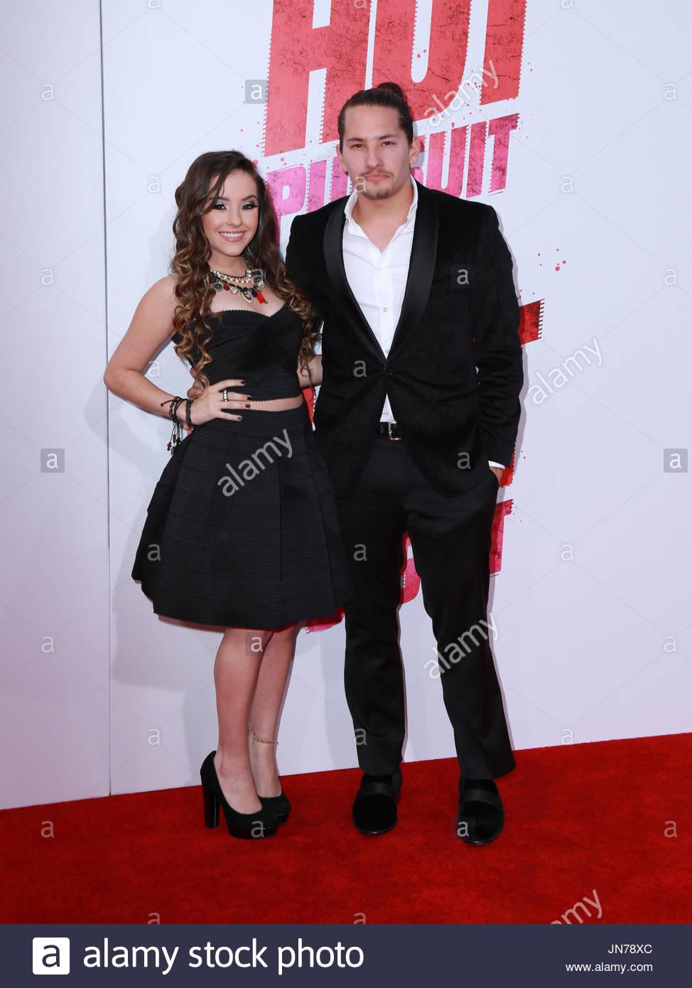 Evaluna Montaner Celebrities Arrive At The Los Angeles