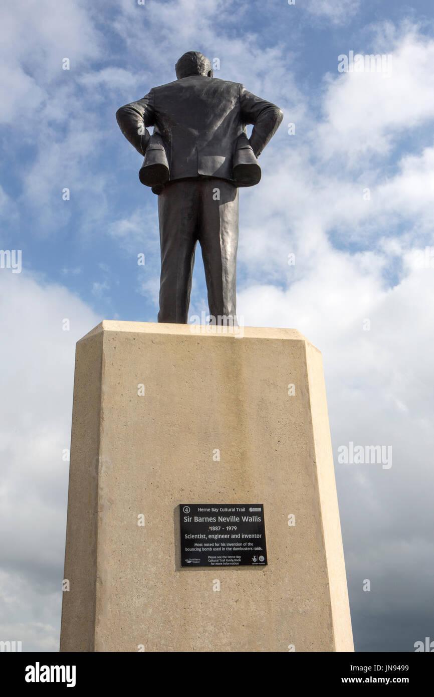 Sir Barnes Neville Wallis CBE FRS RDI FRAeS - Stock Image