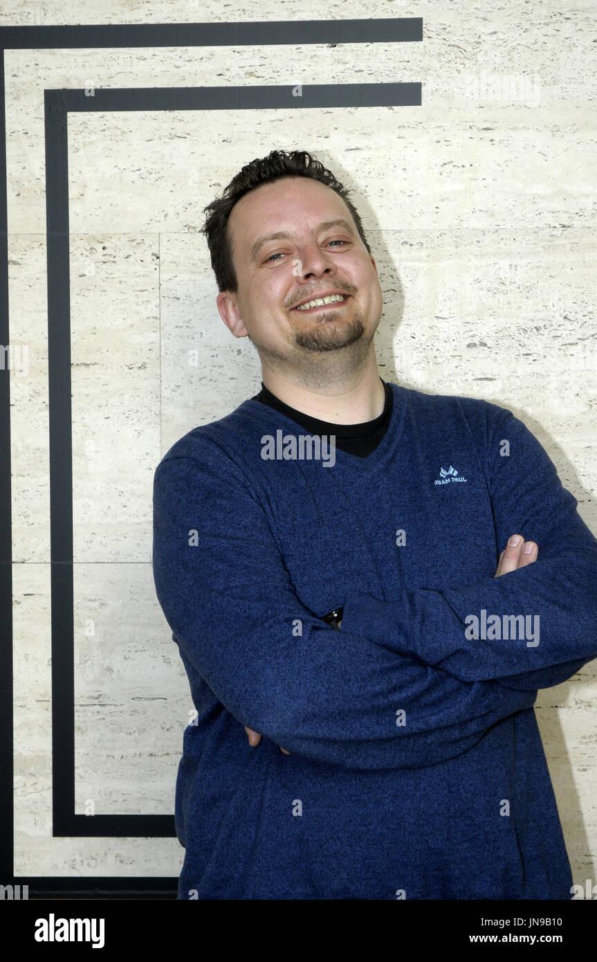 Eric Vogel, Producer /CEO  de TORDENFILM durante el  FESTIVAL SERIELIZADOS (SZS FEST) con  la serie noruega 'Valkyrien' en el CCCB de Barcelona. 21041 - Stock Image