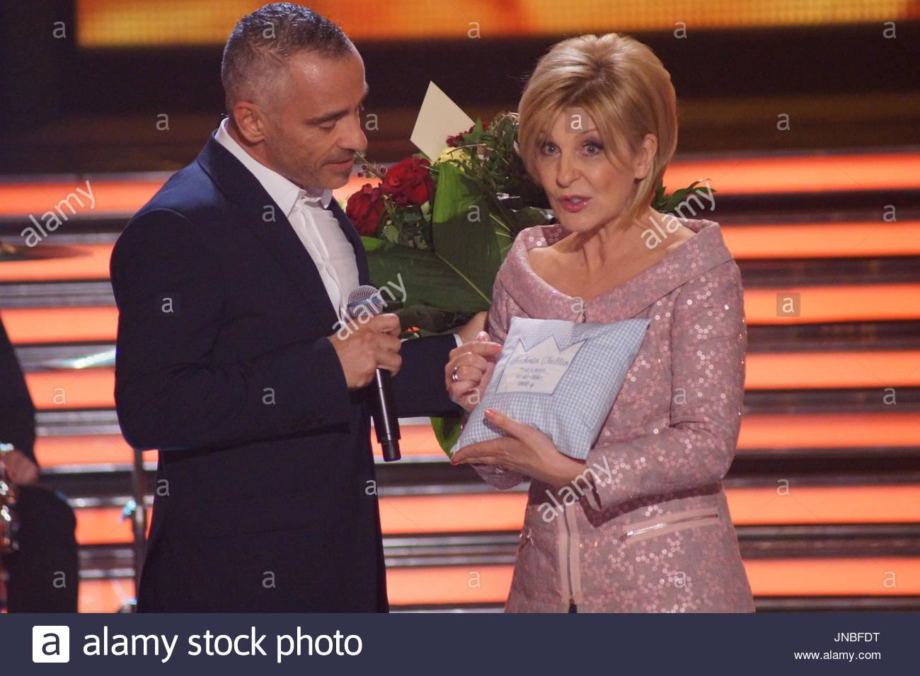 Eros Ramazzotti Eros Ramazzotti On The Tv Show Carmen Nebel In Magdeburg