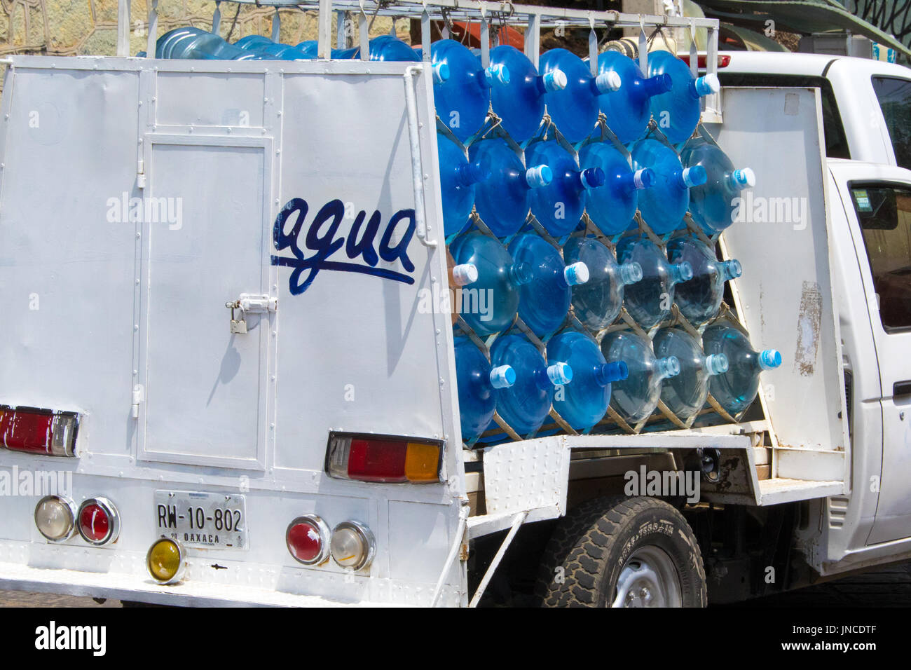 Drinking Water Delivery Truck In Stock Photos Amp Drinking