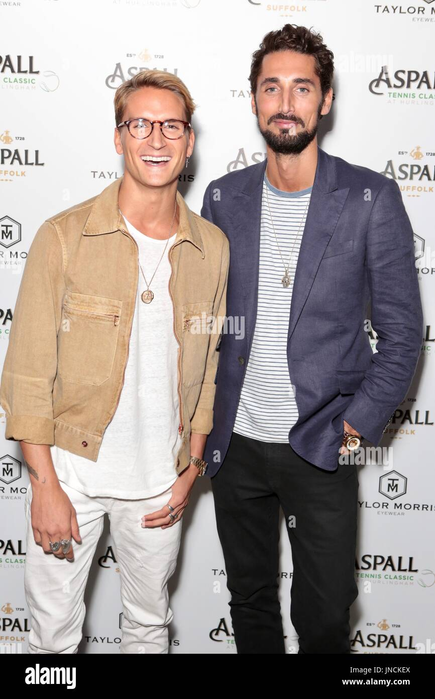 a170a0169c Aspall Tennis Classic Players Party hosted by Taylor Morris Eyewear -  Arrivals Featuring  Oliver Proudlock