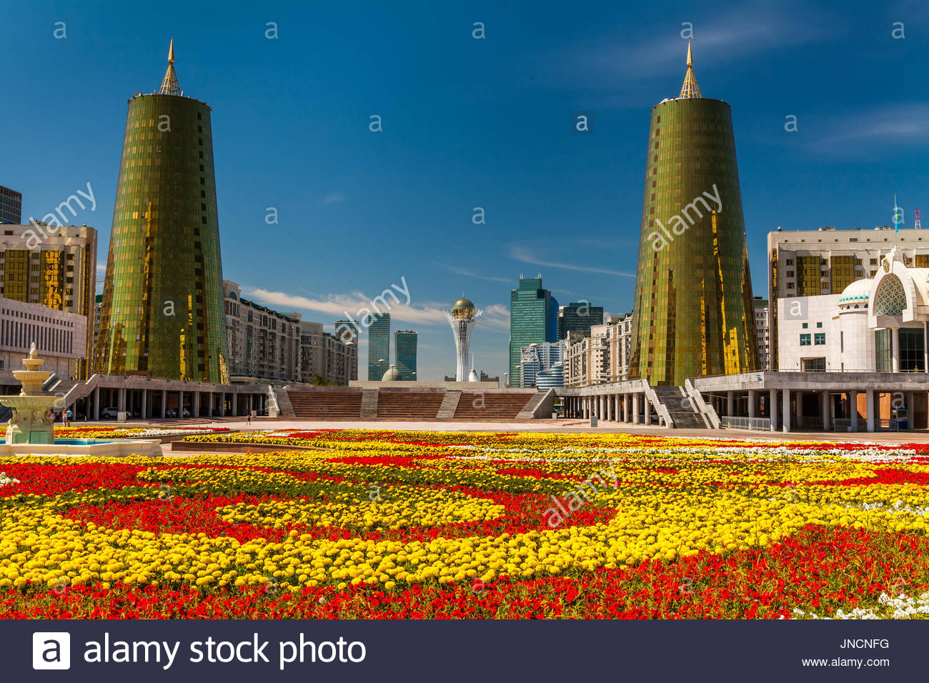 Kazakhstan, Astana City, Parlament - Stock Image