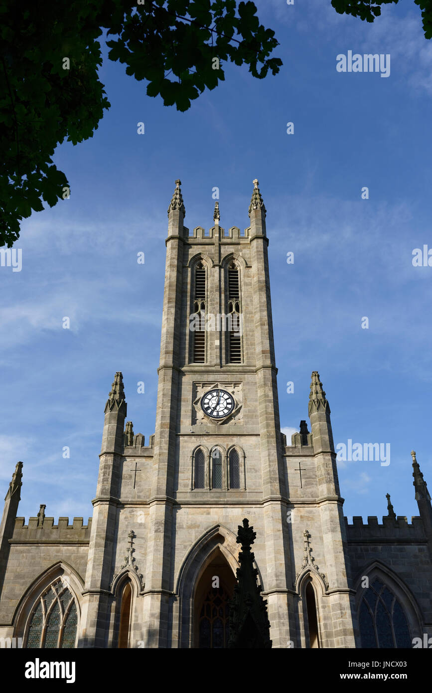 Church tower at All saints stand - Stock Image