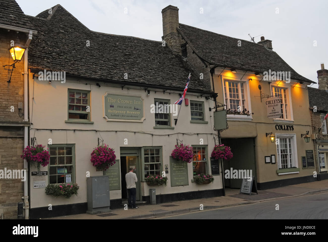 Lechlade on Thames Stock Photo