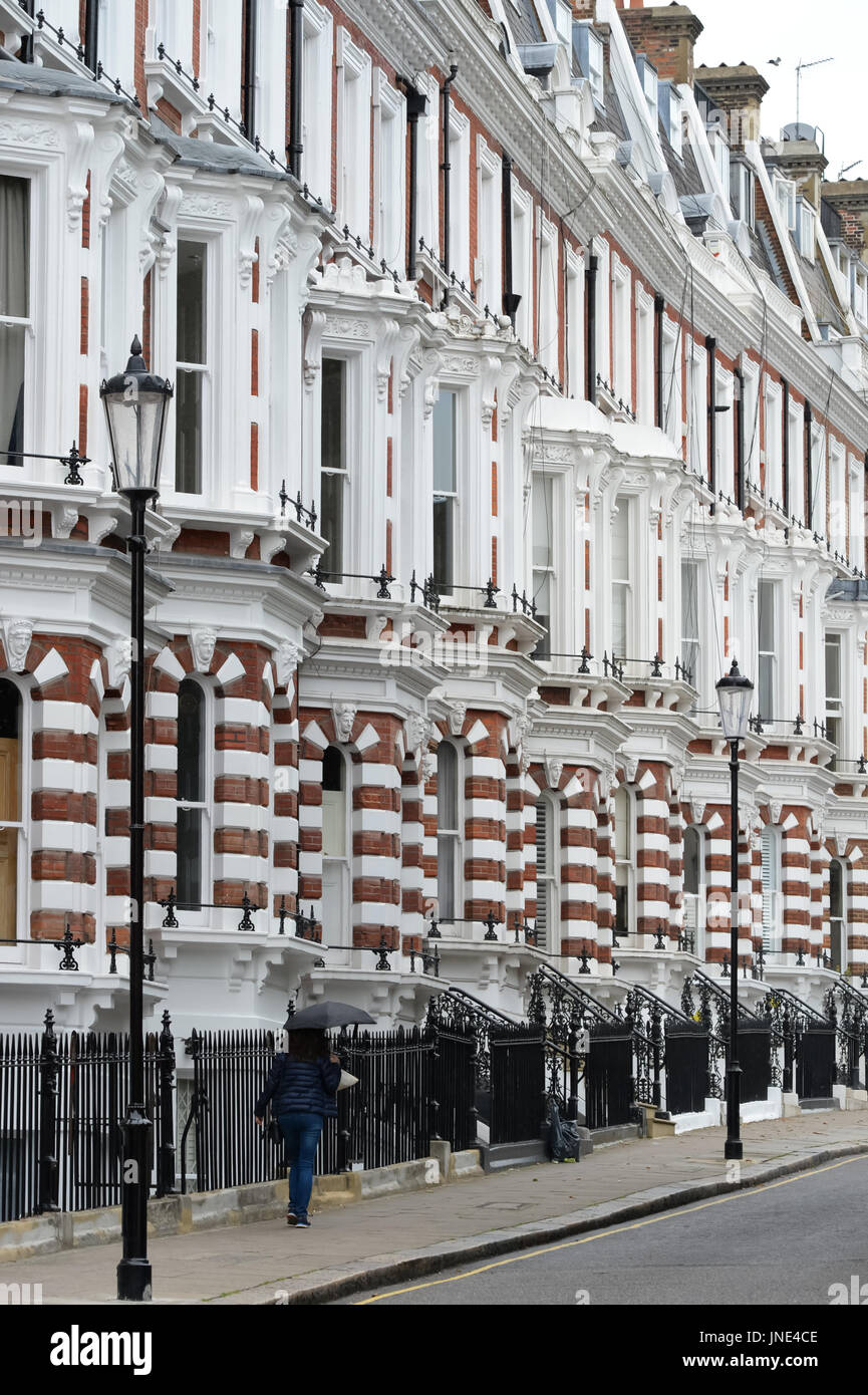 Property in the Royal Borough of Kensington and Chelsea - Stock Image