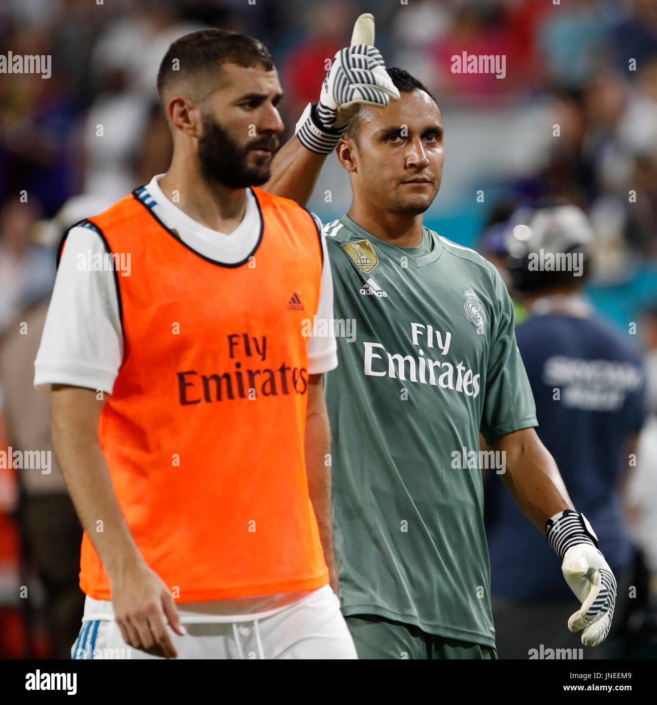 L R Real Madrid Players Stock Photos L R Real Madrid Players