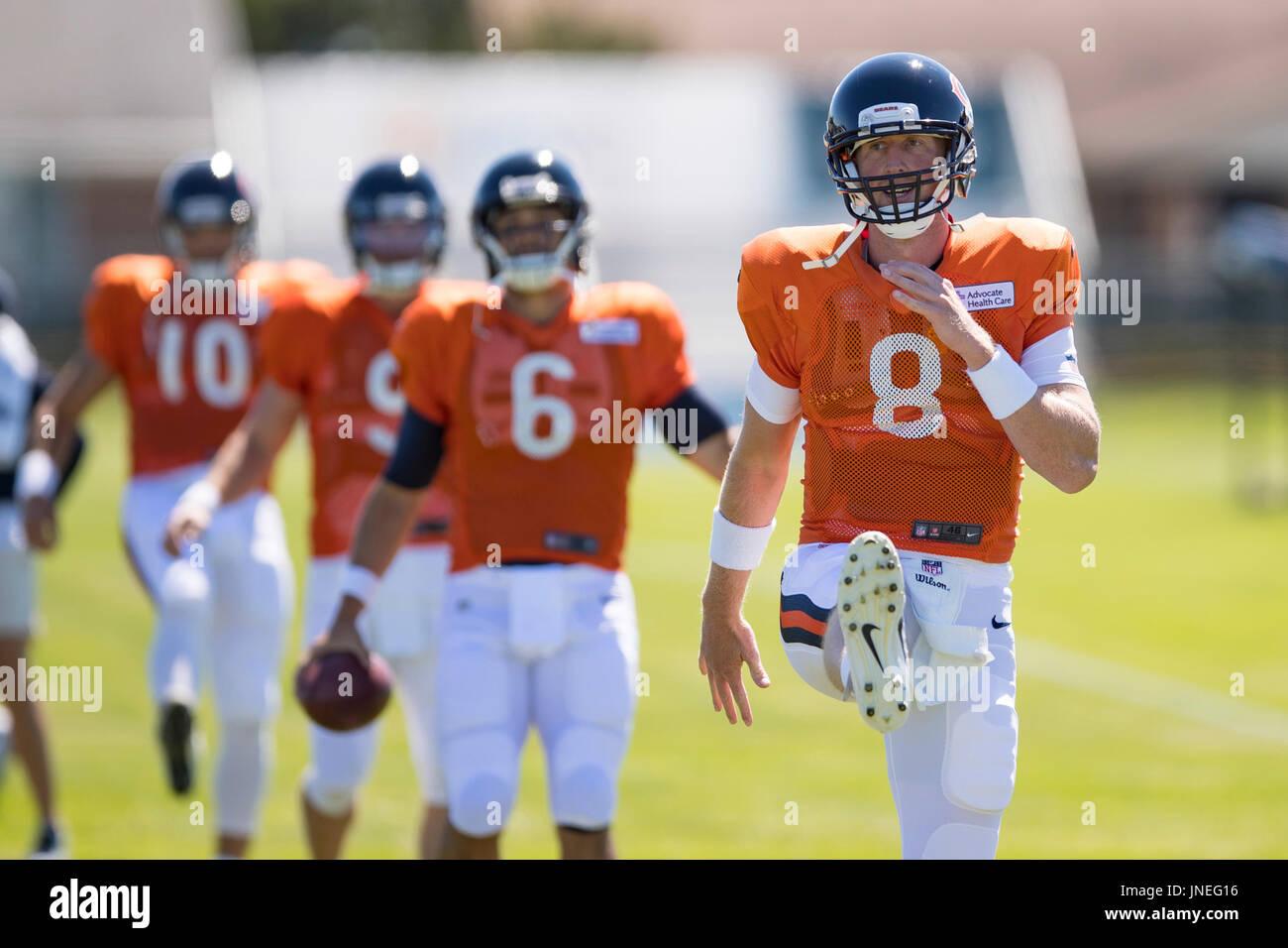 0f16fbdc8ce15b Bourbonnais, Illinois, USA. 29th July, 2017. - Chicago Bears Quarterback #