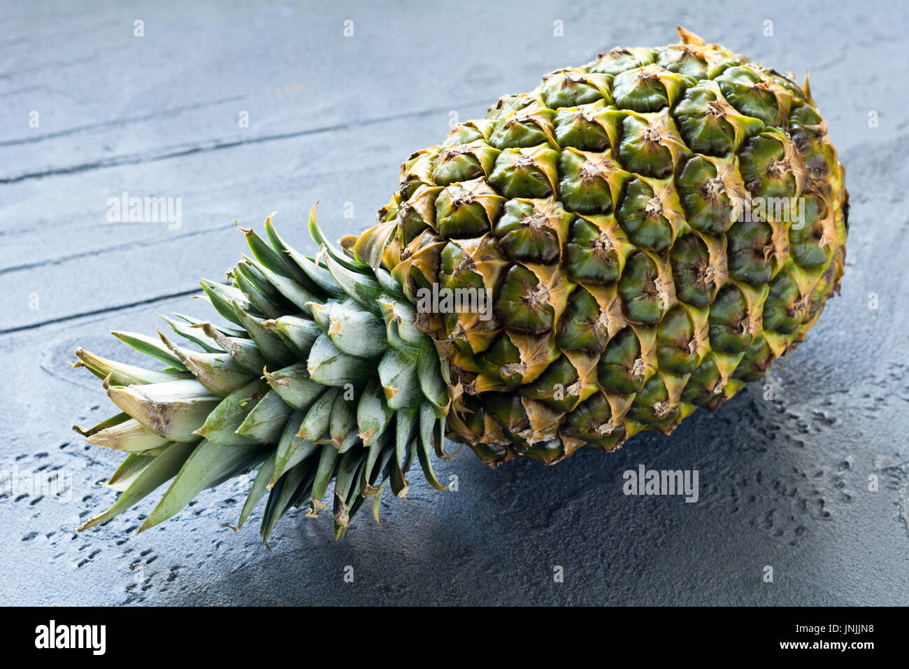 Fresh pineapple, juicy ripe pineapple fruit - Stock Image