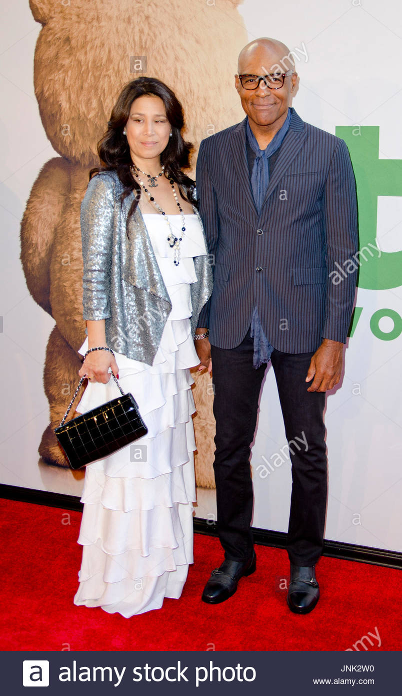 Michael Dorn And Wife Arrivals At The Quot Ted 2 Quot Premiere On