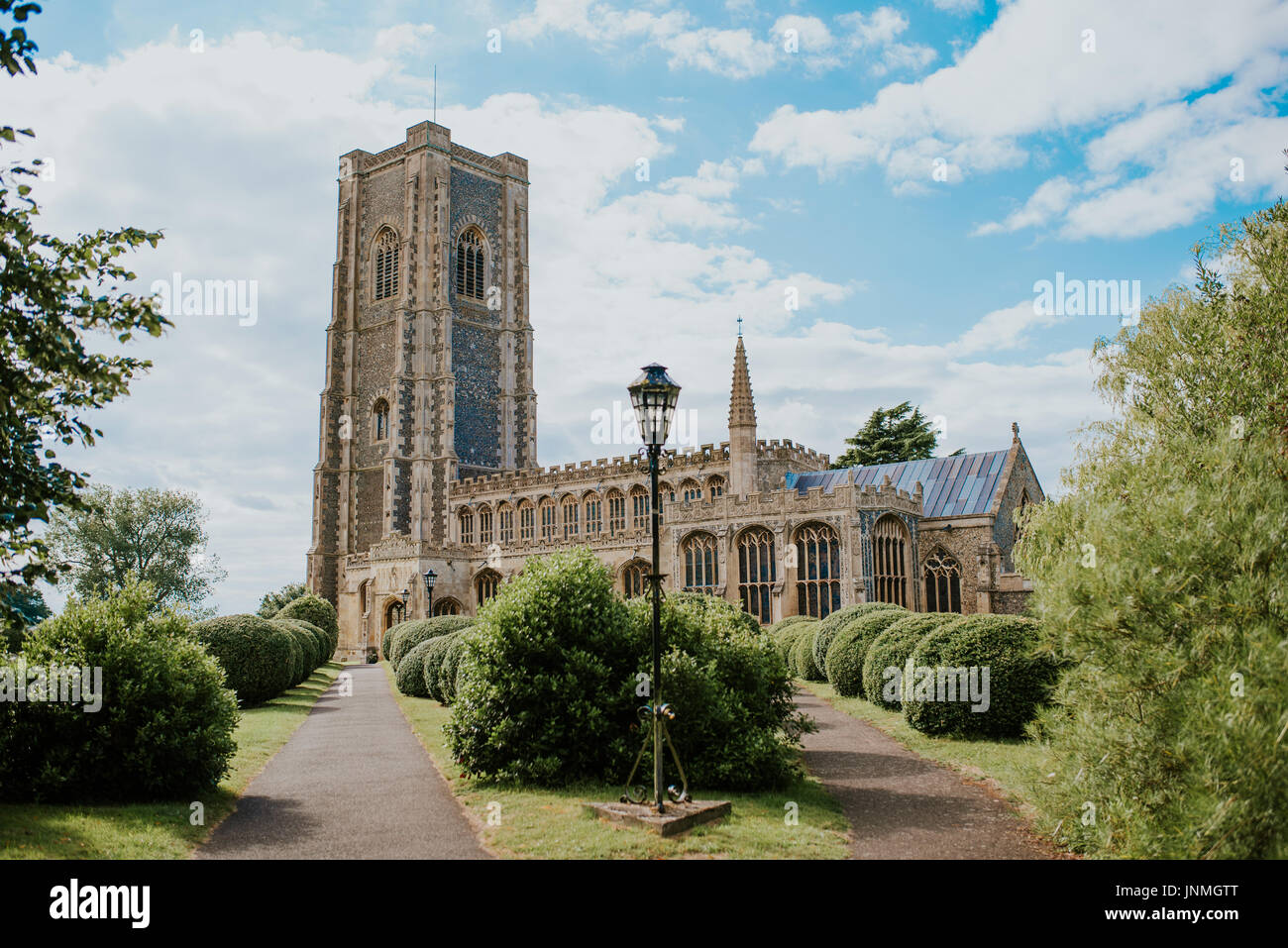 Church of St Peter and St Paul, Lavenham, Suffolk - Stock Image