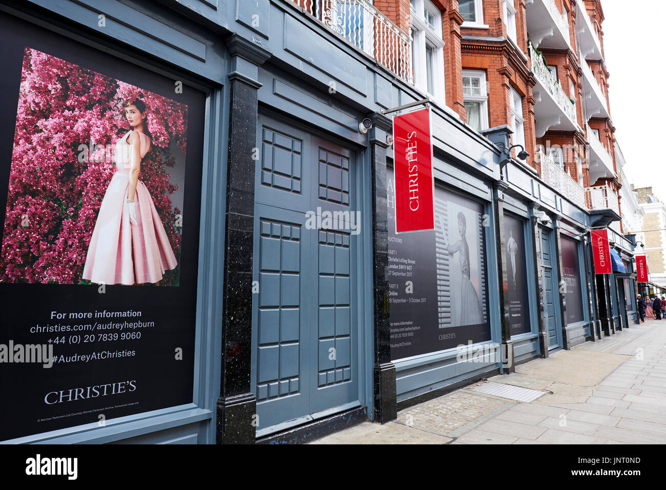 Christies Auctioneers, Old Brompton Road, South Kensington, London, UK - Stock Image