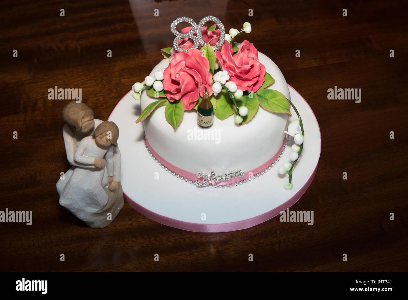 Birthday Cake For Mum At 80