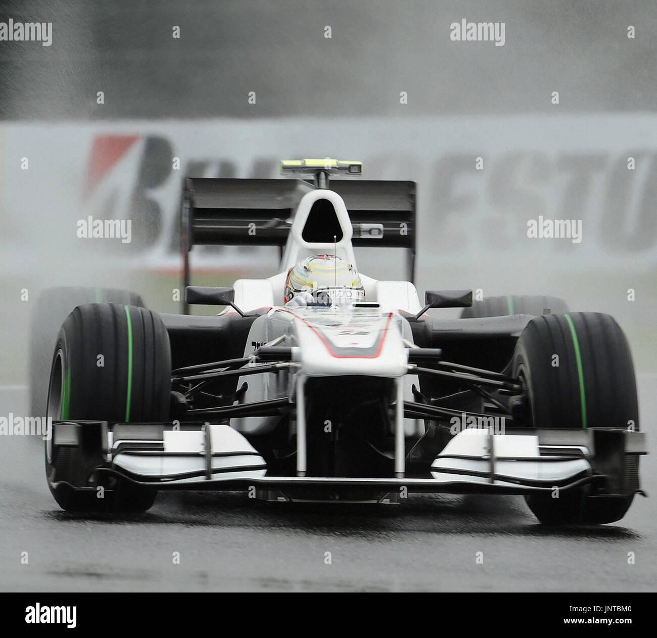 nouveau style a1831 be5d7 SUZUKA, Japan - BMW Sauber's Kamui Kobayashi goes for a free ...