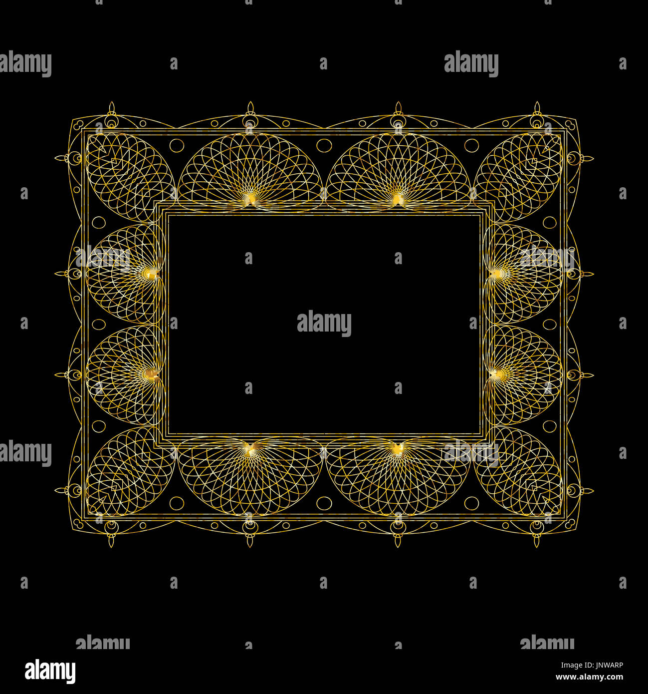 ornate gold frame border.  Ornate Set Of Ornate Line Art Frames And Borders Gold Outline Elements For  Invitations Or Greeting Cards With Ornate Frame Border