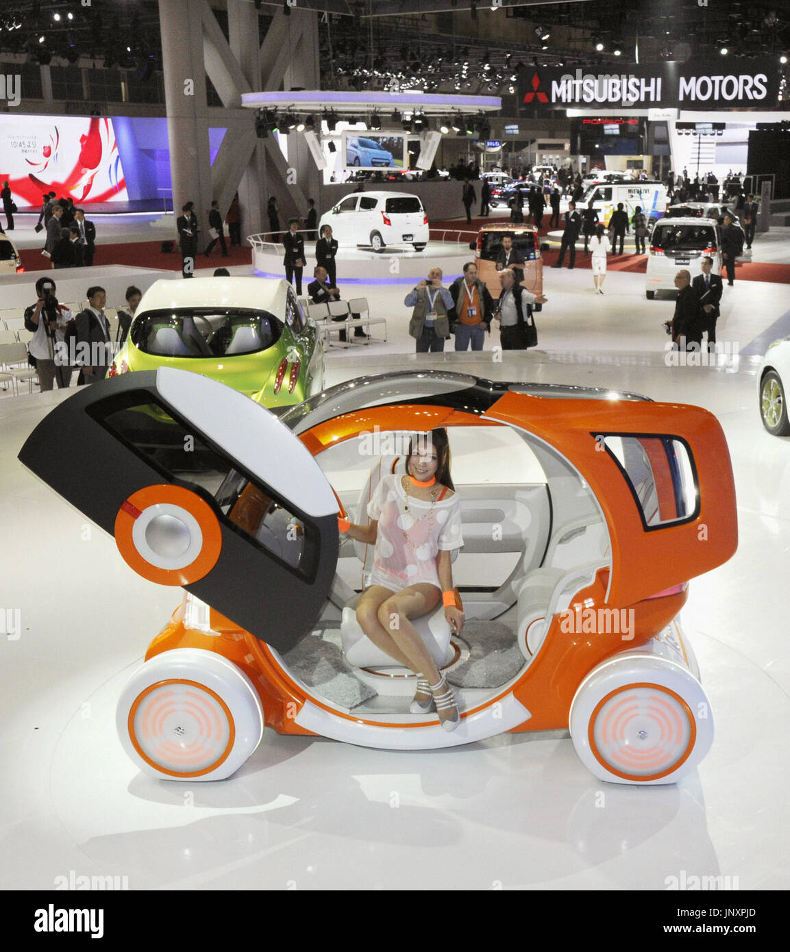 TOKYO, Japan - The Tokyo Motor Show opens to the press at Tokyo Big Sight in Koto Ward in the Japanese capital on Nov. 30, 2011.