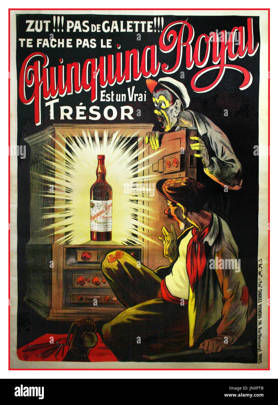 relsky vodka advertising poster 1910
