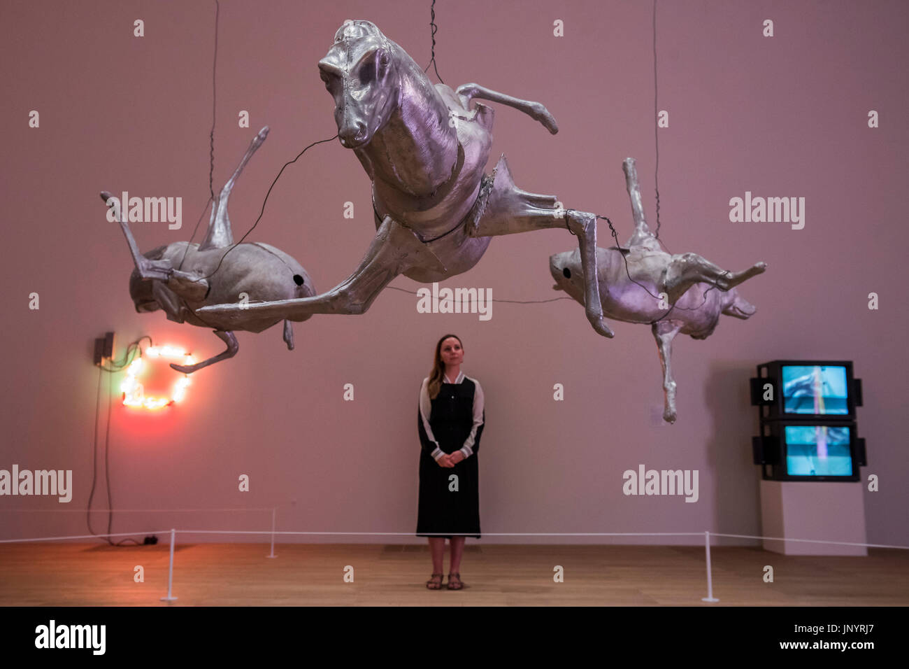 Bruce Nauman Sculpture High Resolution Stock Photography And Images Alamy
