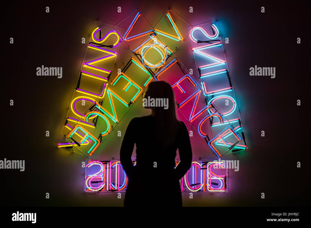 Bruce Nauman High Resolution Stock Photography And Images Alamy