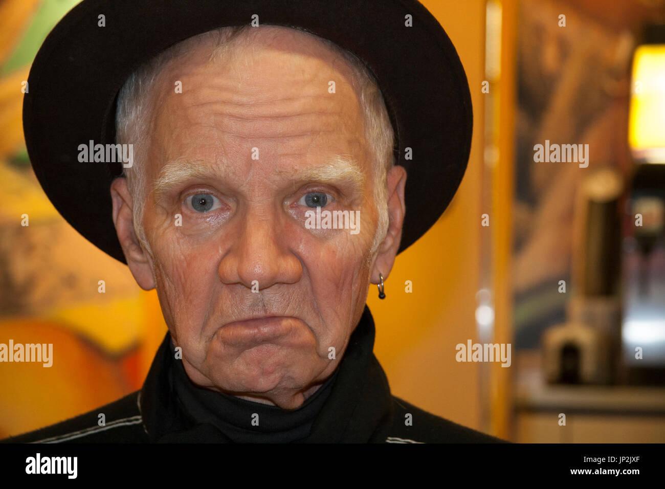 Portrait of Michael J Pollard celebrity character actor - Stock Image