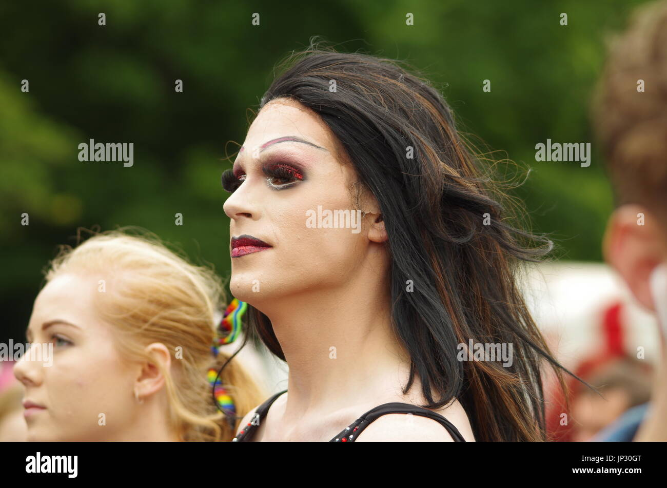 pure sheffield pride lgbt 2017 event - Stock Image