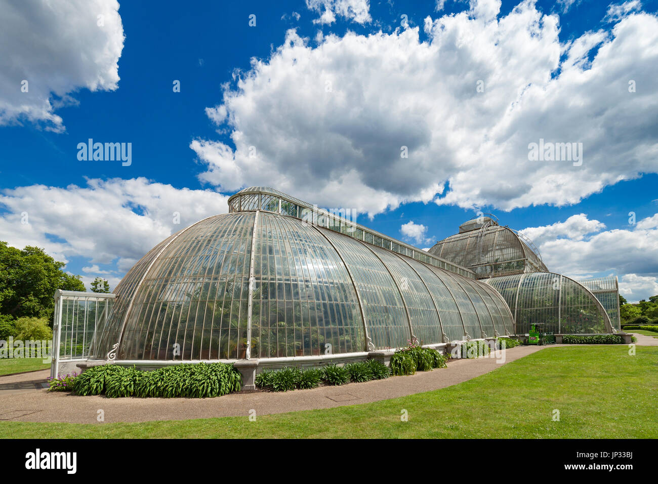 The Palm House Kew Gardens. - Stock Image