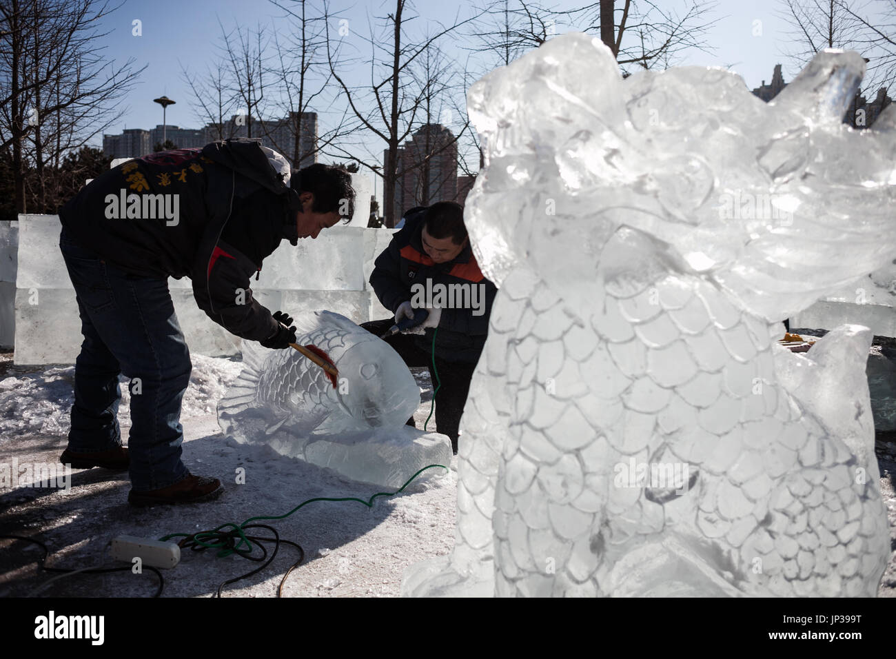 Ice Sculptures Stock Photos & Ice Sculptures Stock Images - Alamy
