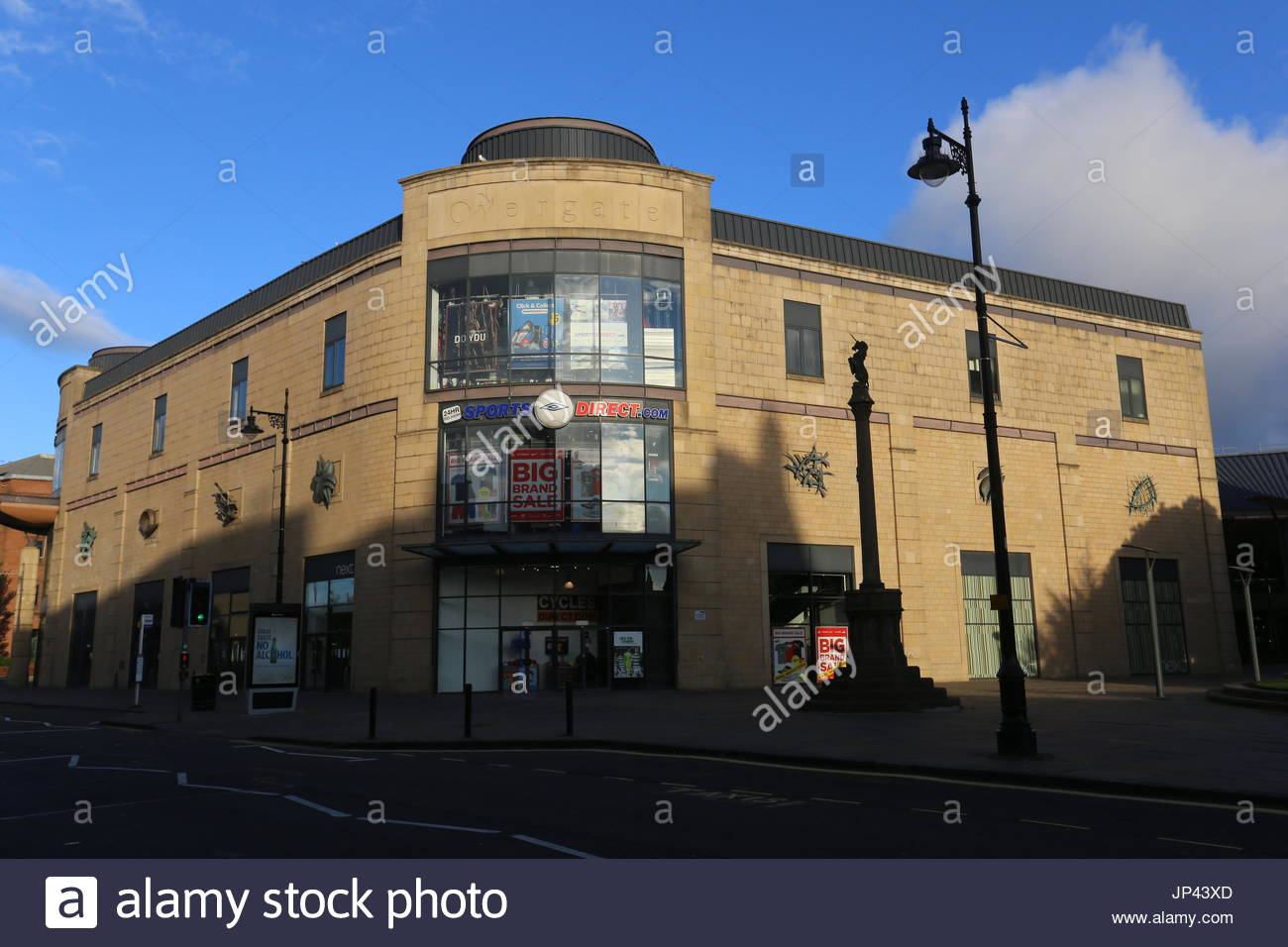 Exterior of Overgate Shopping Centre Dundee Scotland  July 2017 - Stock Image