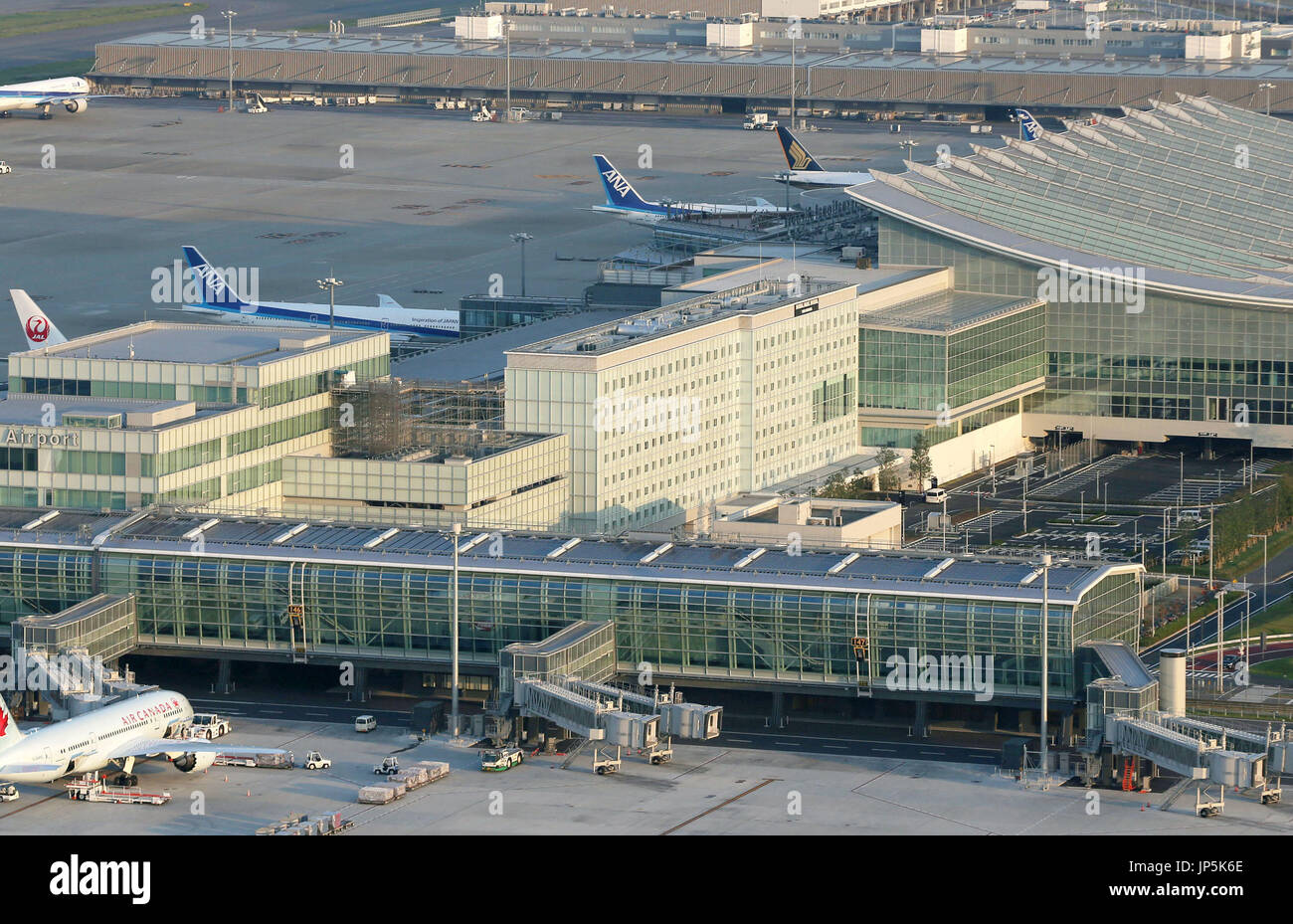 Tokyo Japan Royal Park Hotel The Haneda C Pictured On Sept 29 Stock Photo Alamy