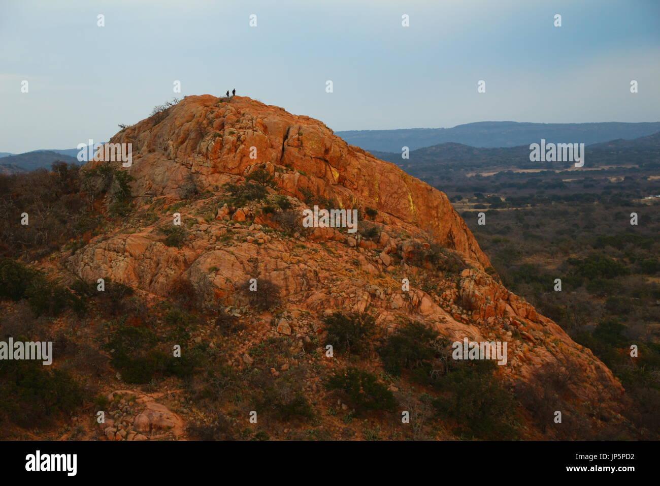 enchanted rock - Stock Image