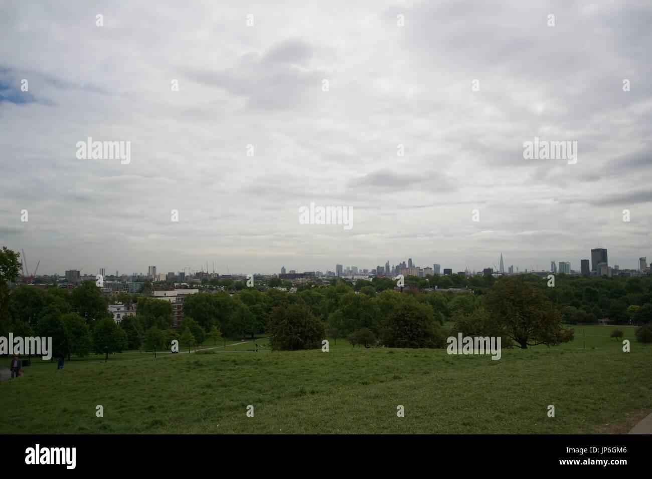 London Parks - Primrose Hill - UK Stock Photo