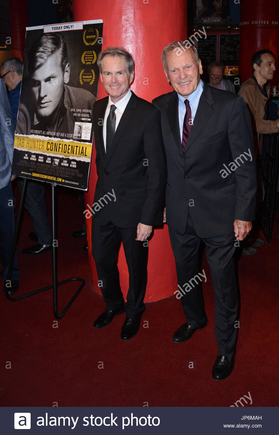 "Tab Hunter, partner and producer Allan Glaser. ""Tab Hunter ... Tab Hunter Partner"