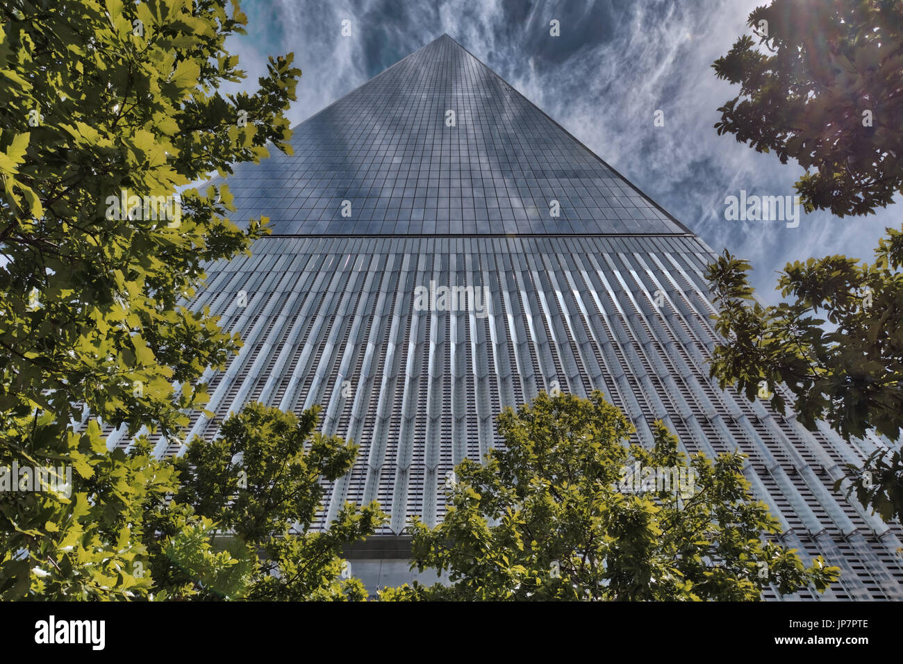 One World Trade Center, Lower Manhattan, New York Stock Photo