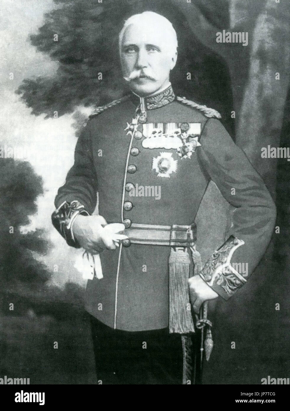 BINDON BLOOD (1842-1940) British Army Commander - Stock Image