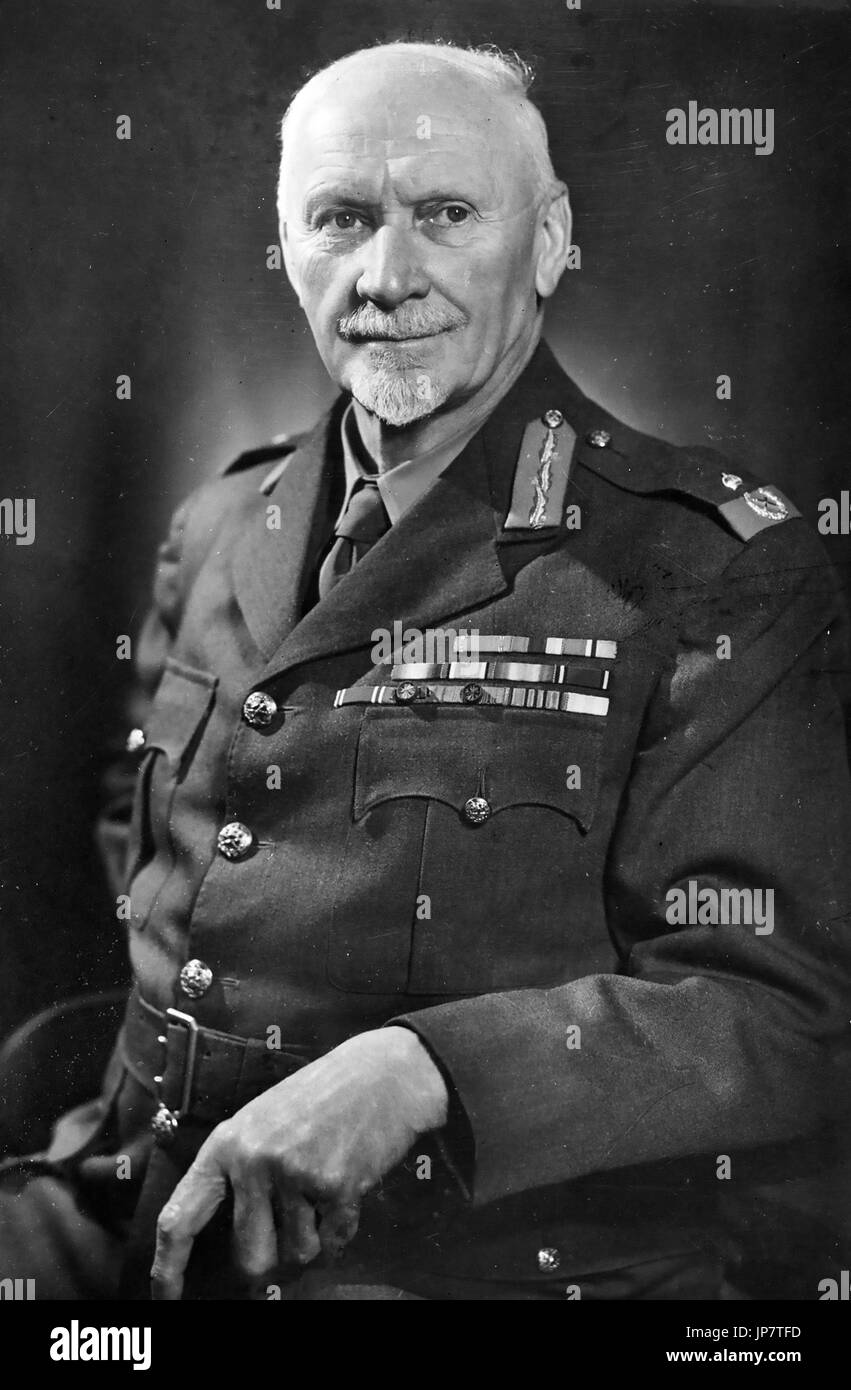 JAN SMUTS (1870-1950) South African military leader and statesman in 1947 - Stock Image