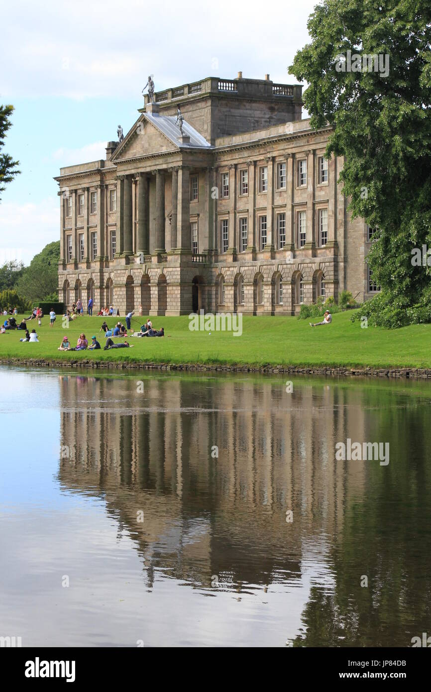 Lyme Park, Disley,, Chesjire, UK Stock Photo
