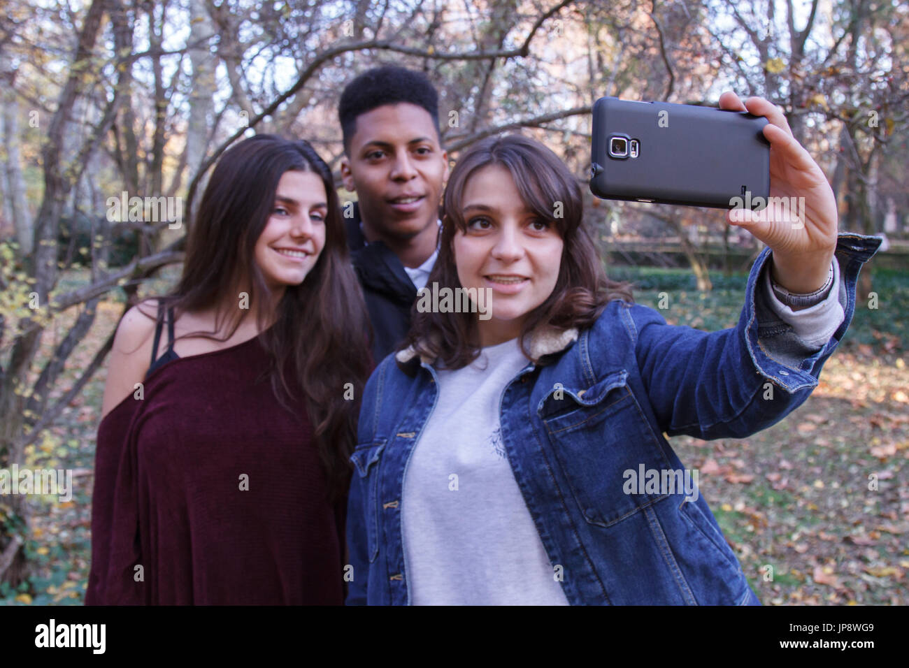 Of Girls And PeopleTwo Boy Young Caucasian Group Doing Black A PTkOuZXi