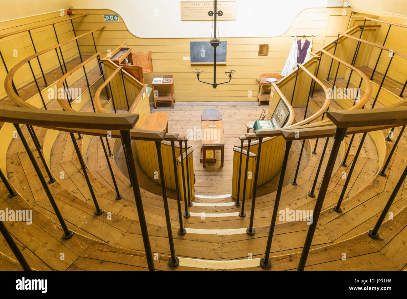 England, London, Southwark, The Old Operating Theatre and Herb Garrett Museum - Stock Image