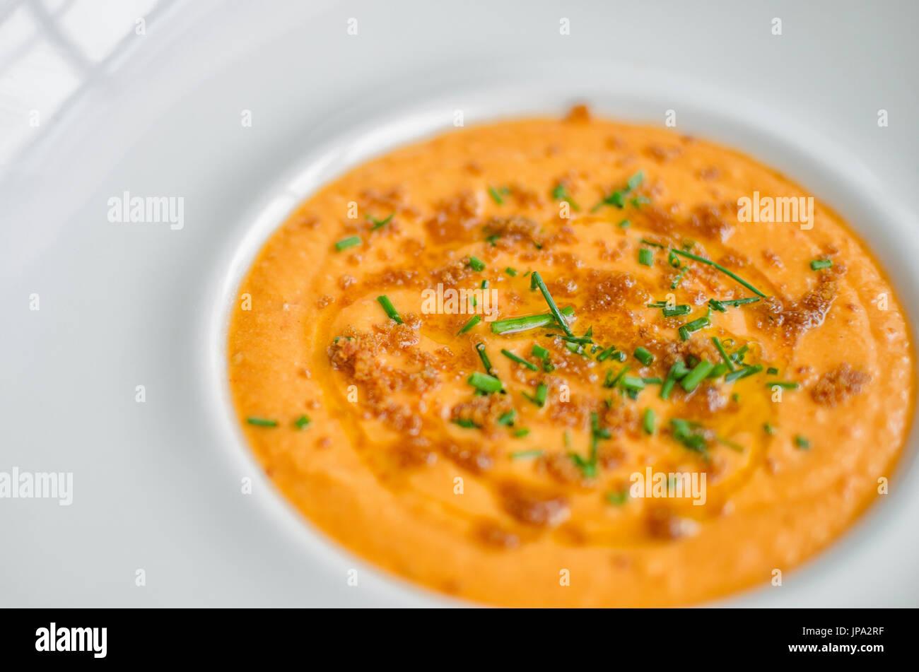 Salmorejo, gazpacho - Stock Image
