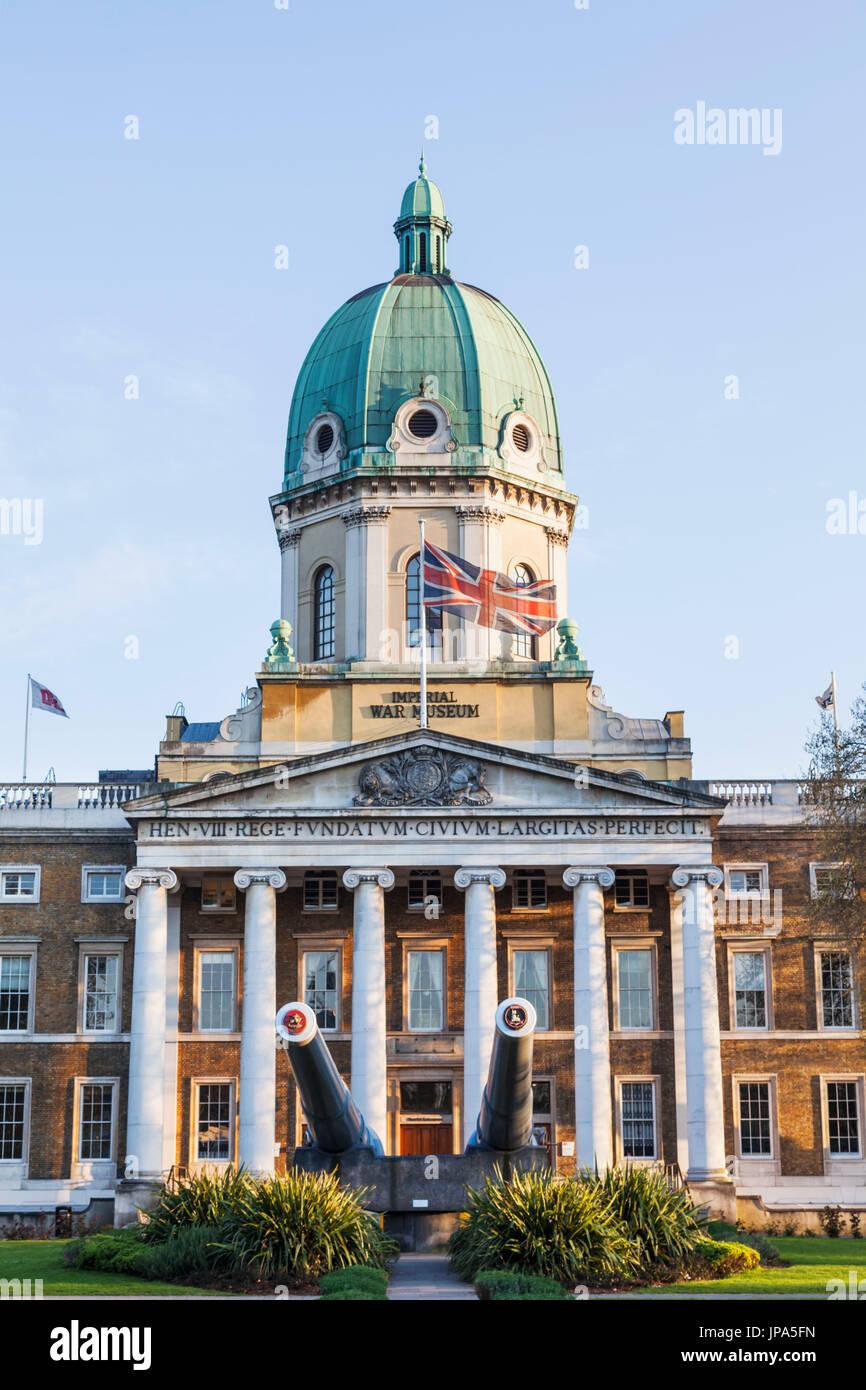 England, London, Lambeth, Imperial War Museum - Stock Image