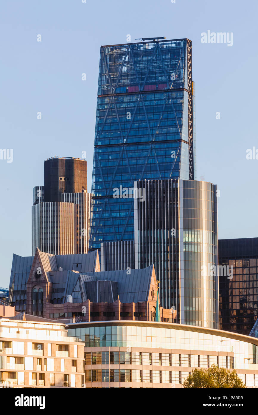 England, London, The City, The Cheesegrater Building - Stock Image