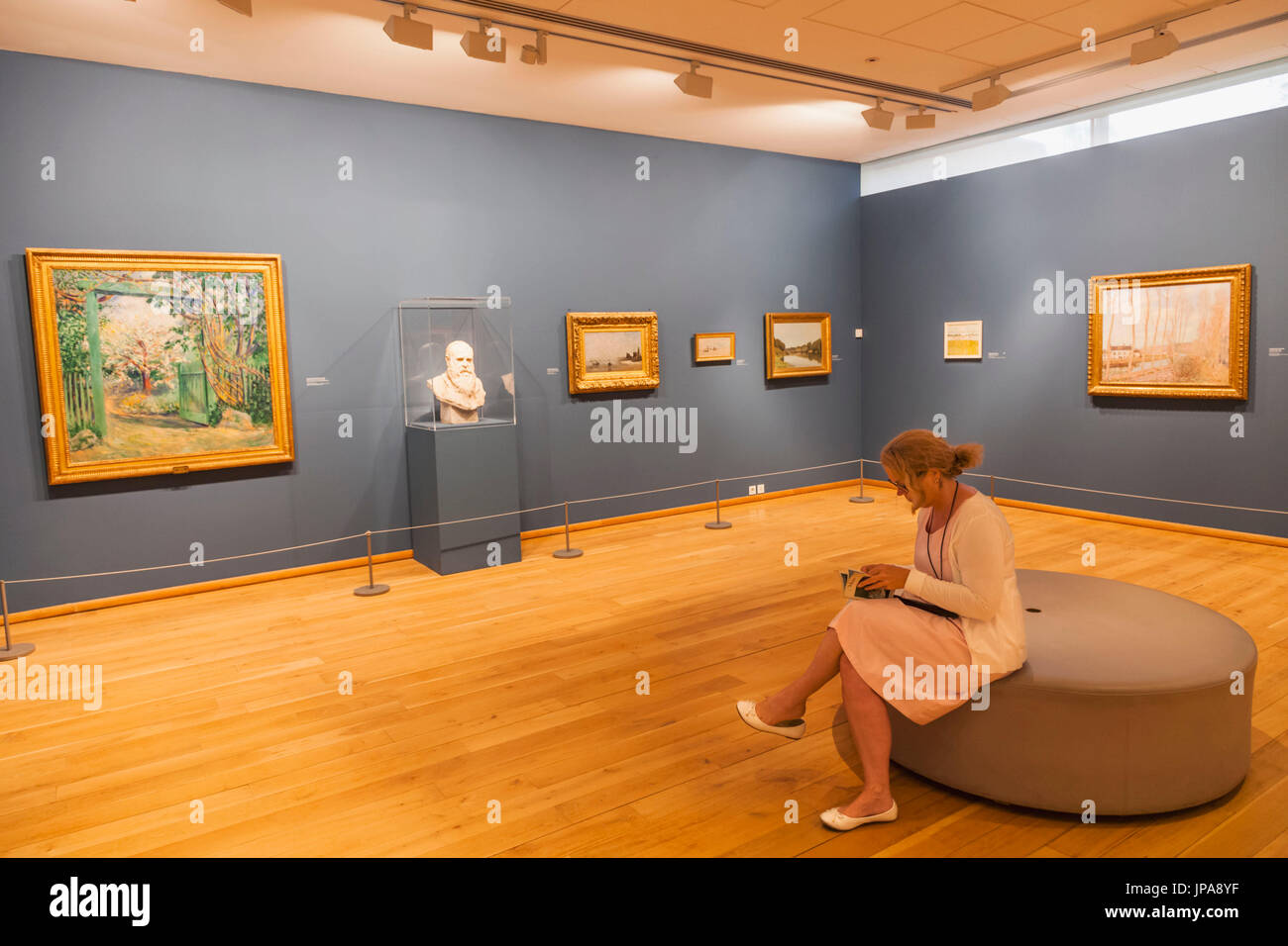 France, Normandy, Giverny, The Musee des Impressionnismes aka The Impressionist Museum - Stock Image
